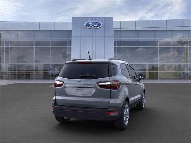 2021 Smoke Metallic Ford EcoSport SE Automatic EcoBoost 1.0L I3 GTDi DOHC Turbocharged VCT Engine FWD