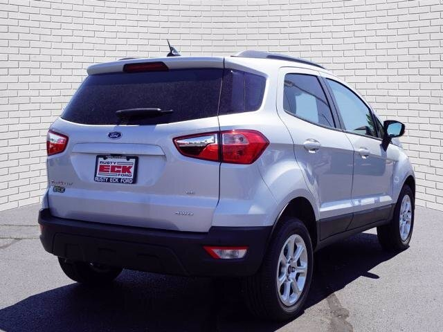 2018 Moondust Silver Metallic Ford EcoSport SE Automatic 4 Door SUV 4X4 2.0L I4 Ti-VCT GDI Engine
