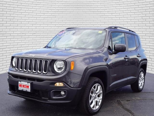 2017 Jeep Renegade Latitude SUV 2.4L I4 MultiAir Engine Automatic 4X4