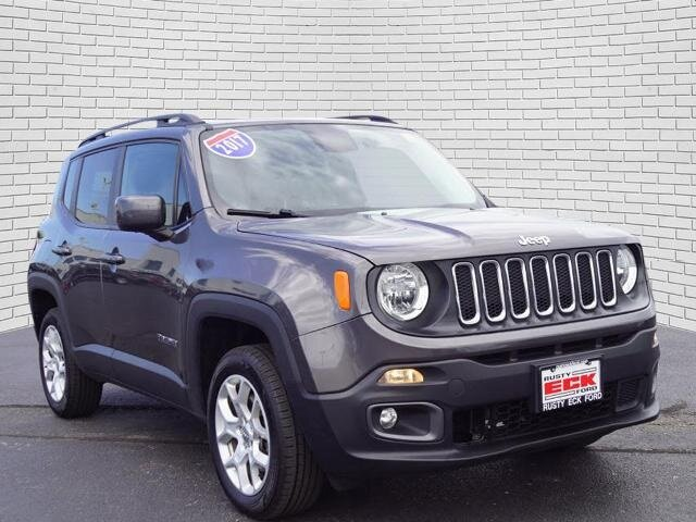 2017 Jeep Renegade Latitude 4X4 2.4L I4 MultiAir Engine Automatic SUV 4 Door