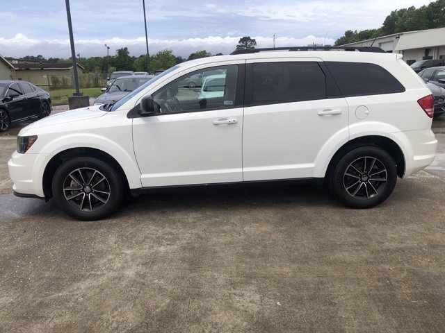 2017 Vice White Dodge Journey SE SUV Automatic Regular Unleaded I-4 2.4 L/144 Engine FWD 4 Door