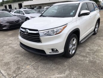 2016 Toyota Highlander Limited Automatic Regular Unleaded V-6 3.5 L/211 Engine SUV FWD 4 Door
