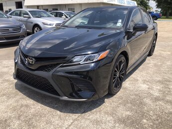 2018 Toyota Camry SE Automatic Car Regular Unleaded I-4 2.5 L/152 Engine 4 Door