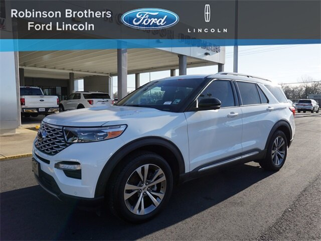 2020 Ford Explorer Platinum 4X4 4 Door SUV V6 Engine Automatic