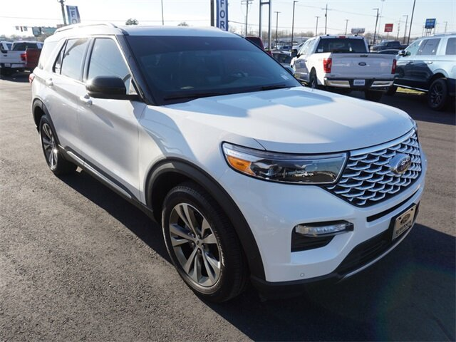 2020 Ford Explorer Platinum 4X4 V6 Engine Automatic 4 Door SUV