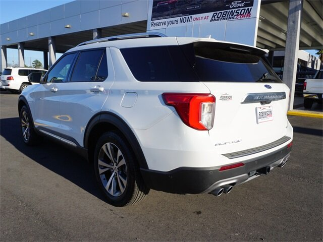 2020 Ford Explorer Platinum V6 Engine SUV 4 Door Automatic 4X4