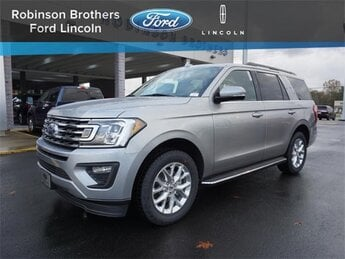 2021 Iconic Silver Metallic Ford Expedition XLT Automatic SUV EcoBoost 3.5L V6 GTDi DOHC 24V Twin Turbocharged Engine 4 Door RWD