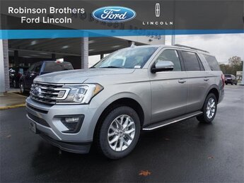 2021 Iconic Silver Metallic Ford Expedition XLT 4 Door RWD EcoBoost 3.5L V6 GTDi DOHC 24V Twin Turbocharged Engine SUV Automatic