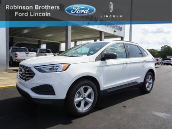2020 Oxford White Ford Edge SE 4 Door EcoBoost 2.0L I4 GTDi DOHC Turbocharged VCT Engine SUV Automatic FWD