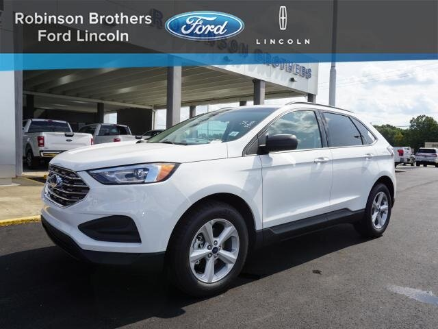 2020 Oxford White Ford Edge SE SUV EcoBoost 2.0L I4 GTDi DOHC Turbocharged VCT Engine Automatic
