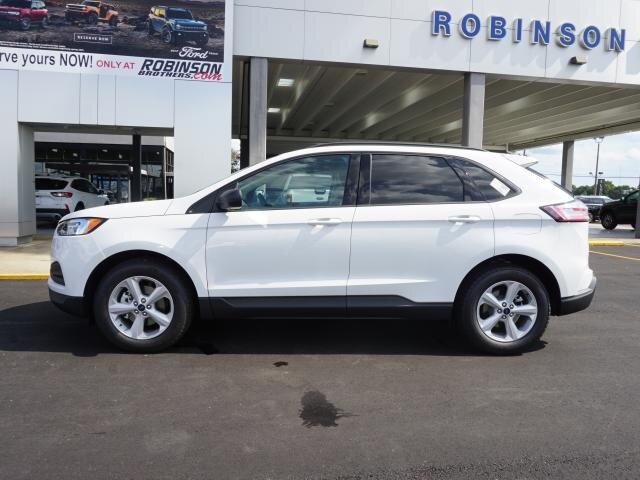 2020 Oxford White Ford Edge SE Automatic 4 Door EcoBoost 2.0L I4 GTDi DOHC Turbocharged VCT Engine