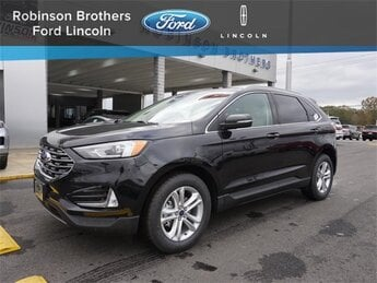 2020 Agate Black Ford Edge SEL SUV Automatic FWD 4 Door