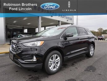 2020 Agate Black Ford Edge SEL SUV EcoBoost 2.0L I4 GTDi DOHC Turbocharged VCT Engine FWD Automatic 4 Door