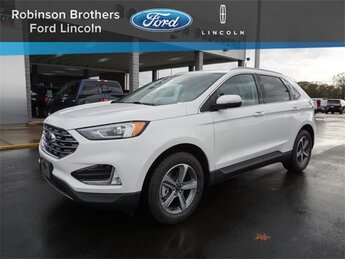 2020 White Ford Edge SEL 4 Door FWD EcoBoost 2.0L I4 GTDi DOHC Turbocharged VCT Engine Automatic SUV