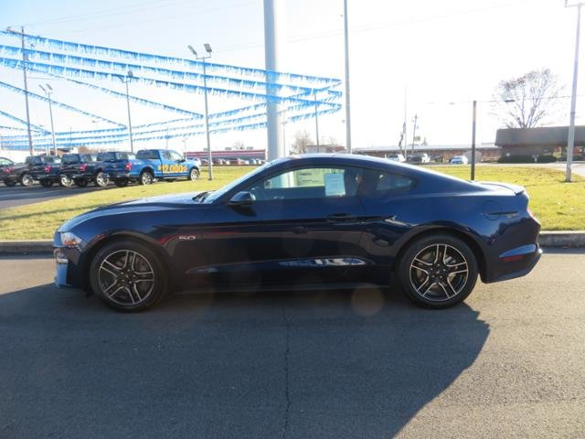 2019 Kona Blue Metallic Ford Mustang GT Premium Fastback 2 Door RWD Coupe