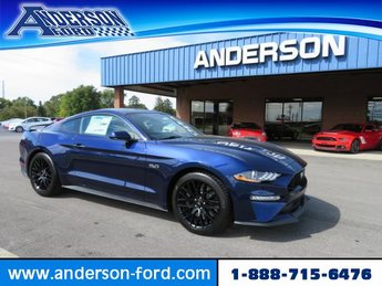 2019 Kona Blue Metallic Ford Mustang GT Fastback 2 Door Coupe RWD