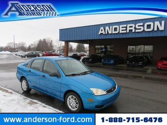 2007 Ford Focus 4dr Sdn SE 4 Door Gas I4 2.0L Engine FWD