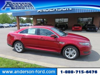 2019 Ruby Red Metallic Tinted Clearcoat Ford Taurus SEL FWD FWD Automatic Sedan 4 Door Gas/Ethanol V6 3.5L Engine
