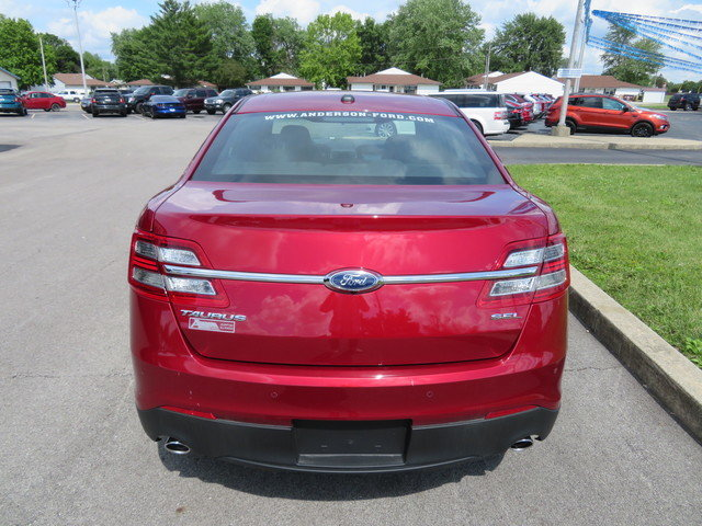 2019 Ruby Red Metallic Tinted Clearcoat Ford Taurus SEL FWD Gas/Ethanol V6 3.5L Engine FWD Sedan Automatic 4 Door
