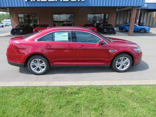 2019 Ruby Red Metallic Tinted Clearcoat Ford Taurus SEL FWD FWD Gas/Ethanol V6 3.5L Engine Automatic 4 Door Sedan