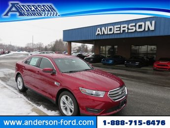 2019 Ruby Red Metallic Tinted Clearcoat Ford Taurus SEL Gas/Ethanol V6 3.5L Engine Sedan Automatic 4 Door FWD