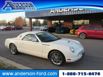 2002 Ford Thunderbird 2dr Conv w/Hardtop Deluxe RWD Automatic 2 Door Gas I8 3.9L Engine