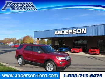 2019 Ford Explorer XLT FWD SUV 4 Door FWD