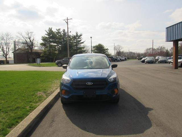 2019 Lightning Blue Metallic Ford Escape S FWD Gas I4 2.5L Engine FWD Automatic 4 Door SUV
