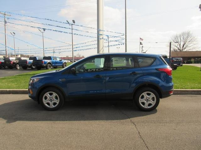 2019 Lightning Blue Metallic Ford Escape S FWD FWD Automatic SUV Gas I4 2.5L Engine 4 Door