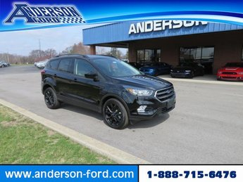 2019 Agate Black Metallic Ford Escape SE 4WD 4 Door 4X4 Automatic Gas I4 1.5L Engine SUV