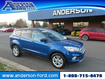 2018 Lightning Blue Metallic Ford Escape SE 4WD SUV Automatic Gas I4 1.5L Engine