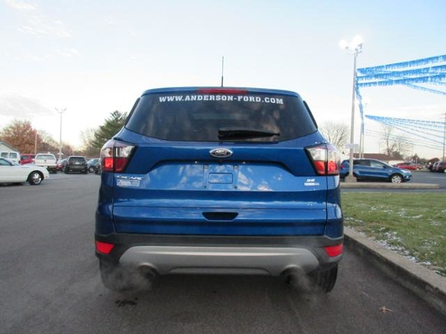 2018 Lightning Blue Metallic Ford Escape SE 4WD 4X4 Gas I4 1.5L Engine 4 Door SUV Automatic