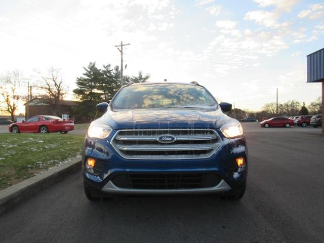 2018 Lightning Blue Metallic Ford Escape SE 4WD Automatic 4X4 Gas I4 1.5L Engine