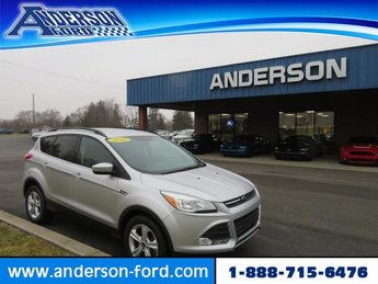2016 Ingot Silver Ford Escape 4WD 4dr SE 4 Door 4X4 SUV