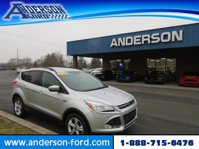 2016 Ingot Silver Ford Escape 4WD 4dr SE 4 Door Automatic 4X4 Gas I4 1.6L Engine