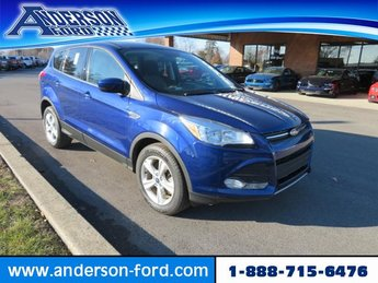 2016 Deep Impact Blue Ford Escape 4WD 4dr SE 4X4 SUV 4 Door Automatic Gas I4 1.6L Engine