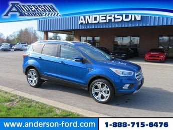 2019 Ford Escape Titanium 4WD 4 Door 4X4 Automatic Gas I4 2.0L Engine SUV