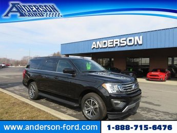 2019 Agate Black Metallic Ford Expedition Max XLT 4x4 Gas V6 3.5L Engine 4X4 4 Door SUV