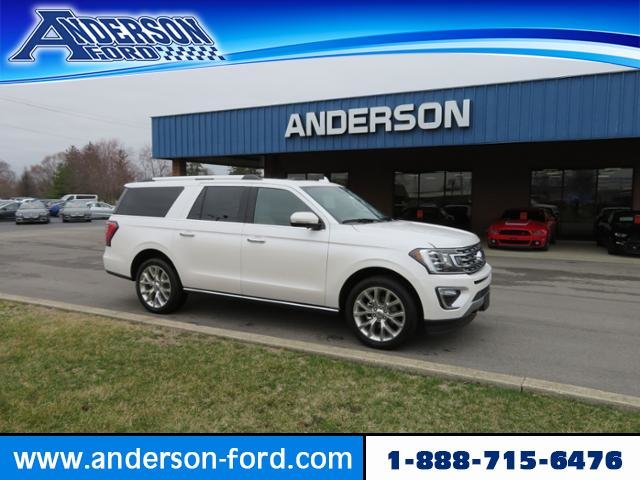 2019 Ford Expedition Max Limited 4x4 4X4 Gas V6 3.5L Engine SUV Automatic