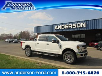 2019 Ford Super Duty F-250 SRW LARIAT 4WD Crew Cab 6.75 Box Automatic Truck 4 Door Gas/Ethanol I8 6.2L Engine 4X4
