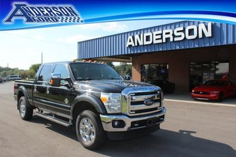 2015 Tuxedo Black Metallic Ford Super Duty F-250 SRW 4WD Crew Cab 156 Lariat 4 Door 4X4 Diesel I8 6.7L Engine Automatic Truck