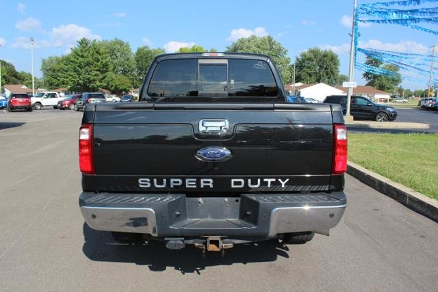 2015 Tuxedo Black Metallic Ford Super Duty F-250 SRW 4WD Crew Cab 156 Lariat Truck Diesel I8 6.7L Engine 4X4