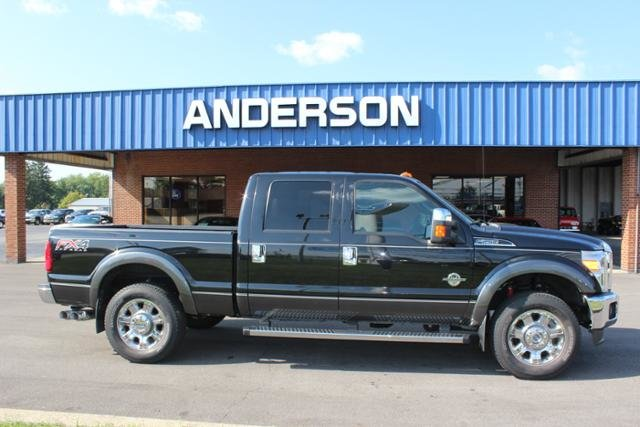 2015 Ford Super Duty F-250 SRW 4WD Crew Cab 156 Lariat Diesel I8 6.7L Engine 4 Door Truck Automatic 4X4