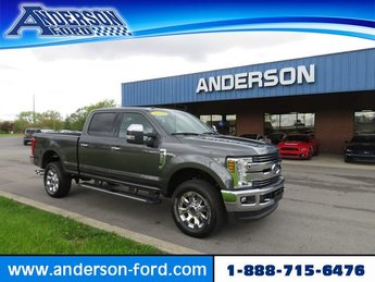 2018 Magnetic Metallic Ford Super Duty F-250 SRW LARIAT 4WD Crew Cab 6.75 Box 4X4 Automatic 4 Door Diesel I8 6.7L Engine Truck