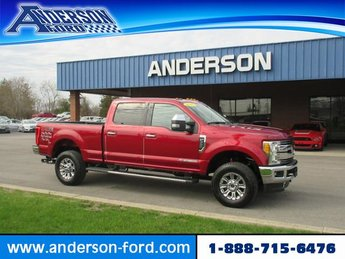 2017 Ford Super Duty F-350 SRW Lariat 4WD Crew Cab 6.75 Box 4 Door Automatic Truck Diesel I8 6.7L Engine 4X4