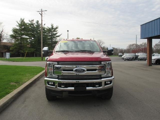 2017 Ruby Red Metallic Tinted Clearcoat Ford Super Duty F-350 SRW Lariat 4WD Crew Cab 6.75 Box Diesel I8 6.7L Engine 4 Door Truck 4X4 Automatic