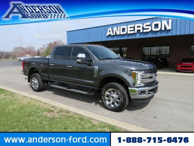 2018 Ford Super Duty F-350 SRW LARIAT 4WD Crew Cab 6.75 Box 4 Door Truck Diesel I8 6.7L Engine