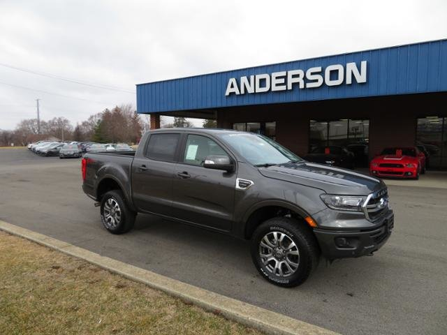 2019 Magnetic Metallic Ford Ranger DB 4X4 Automatic 4 Door Truck