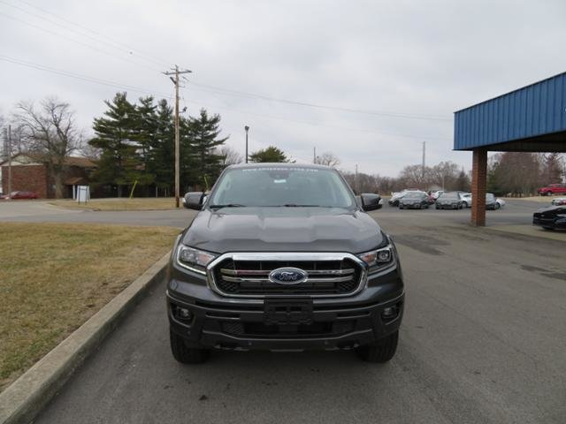 2019 Magnetic Metallic Ford Ranger LARIAT 4WD SuperCrew 5 Box Truck 4X4 4 Door Gas I4 2.3L Engine Automatic