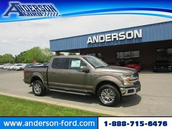 2019 Ford F-150 LARIAT 4WD SuperCrew 5.5 Box 4 Door Gas V6 3.5L Engine Truck
